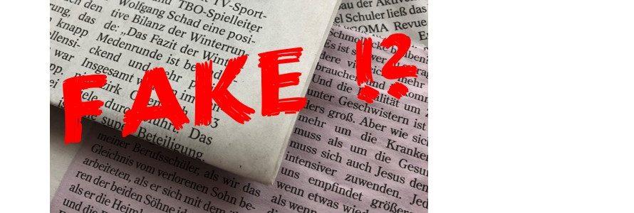 Lesenswert: Wer Fake News verbreitet